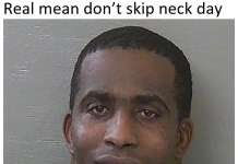 Real Men Don't Skip Neck Day