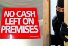 No Cash Left On Premises