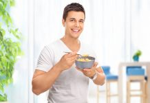 Cereal On Trip From Kitchen To Couch