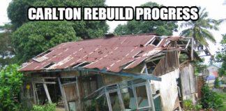 Carlton Rebuild Progress