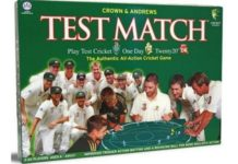 Test Match Board Game