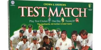 Test Match Board Game